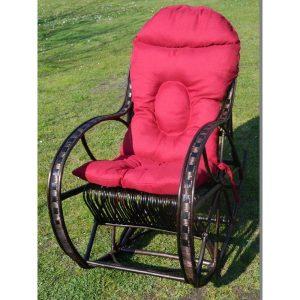 fotel-bujany-z-wikliny-wenge-poduszka-bordo (1)