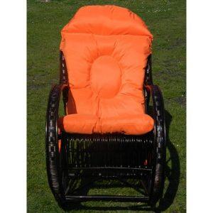 fotel-bujany-z-wikliny-wenge-poduszka-pomarańczowa (1)