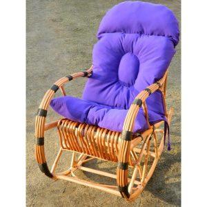 fotel-bujany-z-wikliny-z-kija-czarny-poduszka-fioletowa (1)