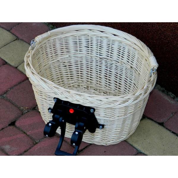 Koszyk rowerowy przedni CLICK