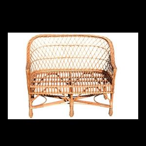 ławka z wikliny - sofa z wikliny
