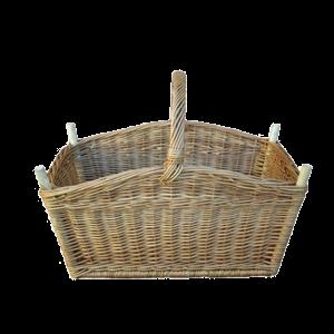 B. wytrzymały koszyk na drewno do KOMINKA zabawki