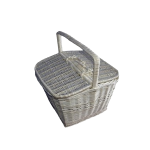 BIAŁY koszyk na zakupy piknikowy piknik producent