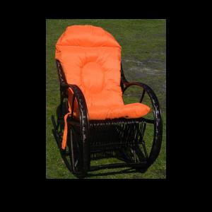 producent fotel bujany z wikliny z poduszką