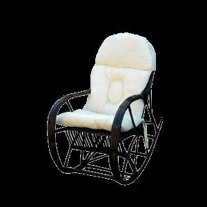 Fotel bujany z wikliny - bujak wiklinowy