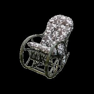 fotel bujany z poduszką