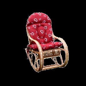 Fotel dla dziecka BUJAK WIKLINOWY + poduszki serca