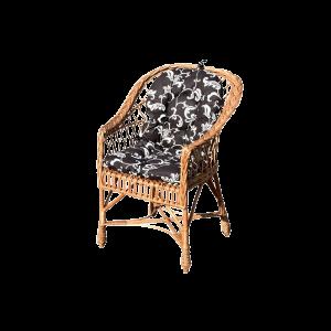 Fotel wiklinowy Z WIKLINY krzesło + poduszki różne