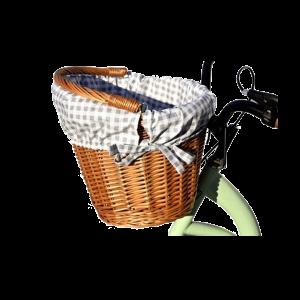 KOSZYK NA ROWER z wikliny rowerowy z wkładem 16 ko