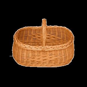 Kosz na zakupy KOSZYK WIKLINOWY z wikliny piknik