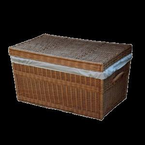 Kufer wiklinowy prosty KUFEREK z wikliny 100 cm