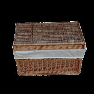 Kufer wiklinowy prosty KUFEREK z wikliny 60 cm