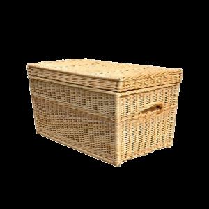 Kufer wiklinowy prosty KUFEREK z wikliny 70 cm