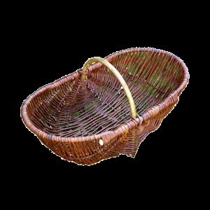 Kwietnik Koszyk na kwiaty wiklinowy Doniczka m