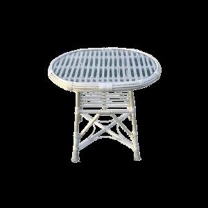 Stolik z szybą wiklinowy Z WIKLINY stół ogrodowy