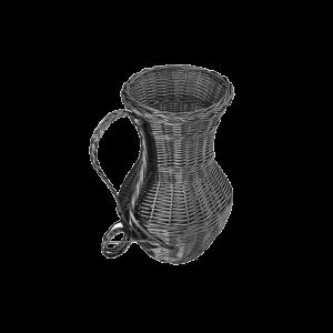 Wiklinowy wazon OZDOBY z wikliny wiklina WENGE