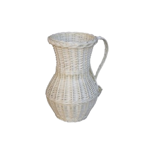 Wiklinowy wazon OZDOBY z wikliny wiklina flakon