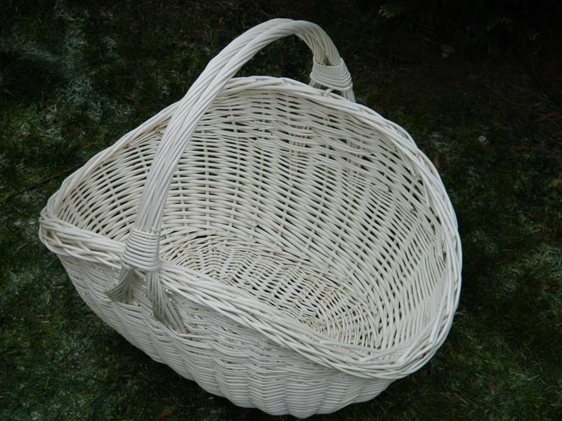 Koszyk na drewno do kominka KOMINKOWY WYTRZYMAŁY