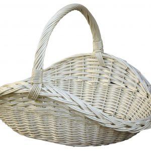 koszyk z rączką na drewno