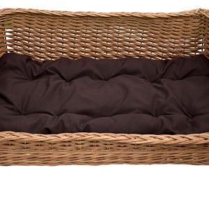 100 wiklinowe legowisko z poduszką